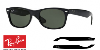 Patillas-Varillas Ray-Ban 2132 New Wayfarer Originales