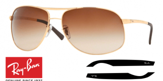 Patillas-Varillas Ray-Ban 3387 Originales