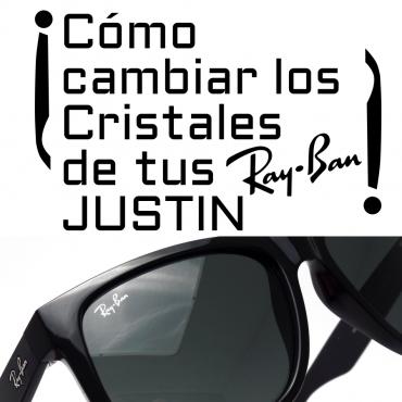 90870966b8 ¿Cómo cambiar los cristales o lentes de tus Ray-Ban 4165 JUSTIN?