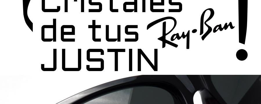 ¿Cómo cambiar los cristales o lentes de tus Ray-Ban 4165 JUSTIN?