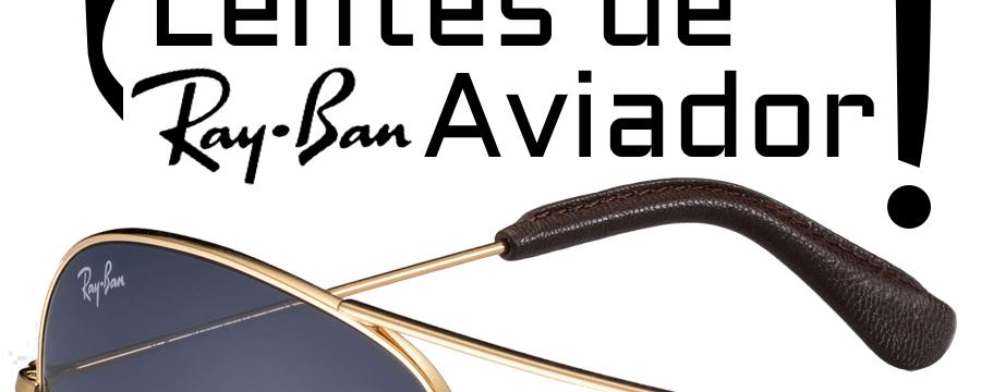 ¿Cómo cambiar las lentes RB3025 Aviador Large Metal?