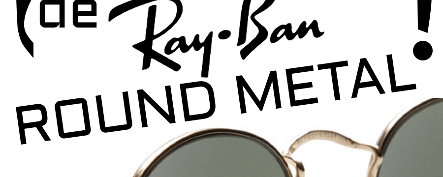 cambiar las patillas o varillas del modelo Ray-Ban RB3447 Round Metal