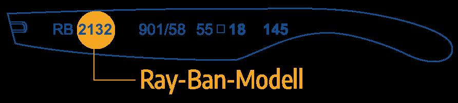 Identifizieren Sie das Ray Ban Modell 1