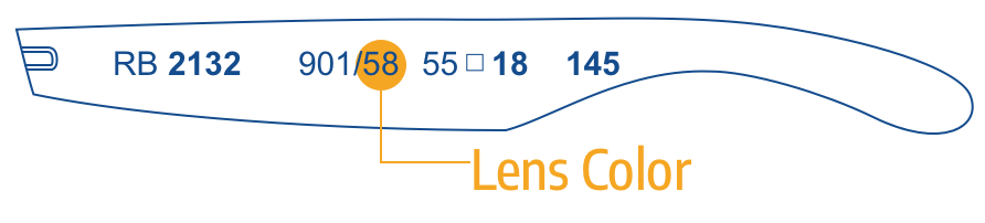 Identify Color Ray Ban Lenses 1