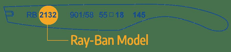 Identify Ray Ban Model 1