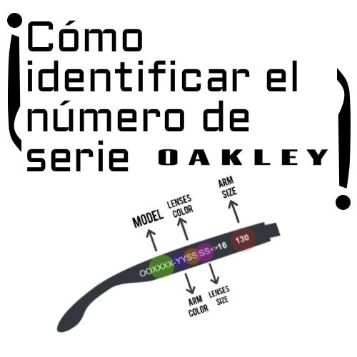Cómo identificar tu modelo Oakley